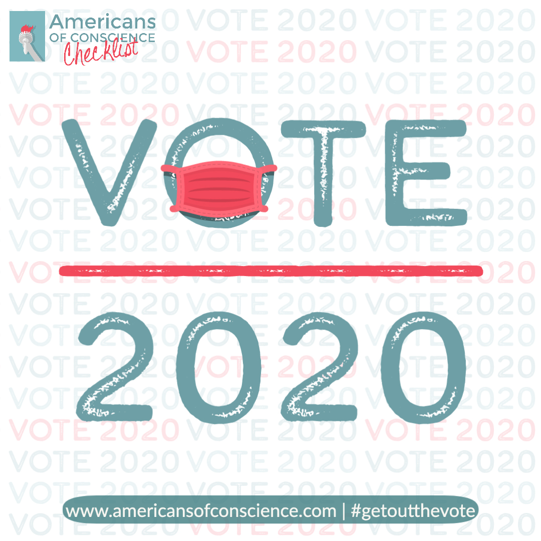 Vote in the 2020 election with your mask on